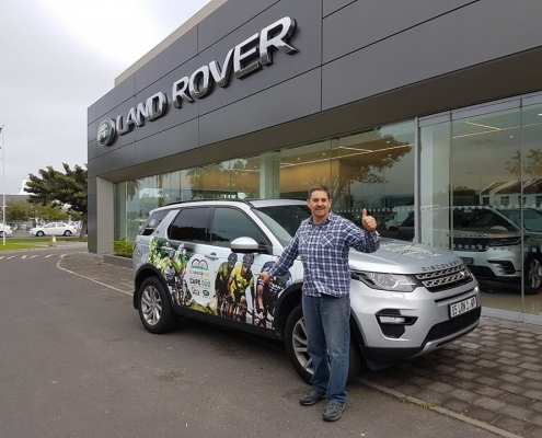Land Rover takes Cape Duo to Knysna