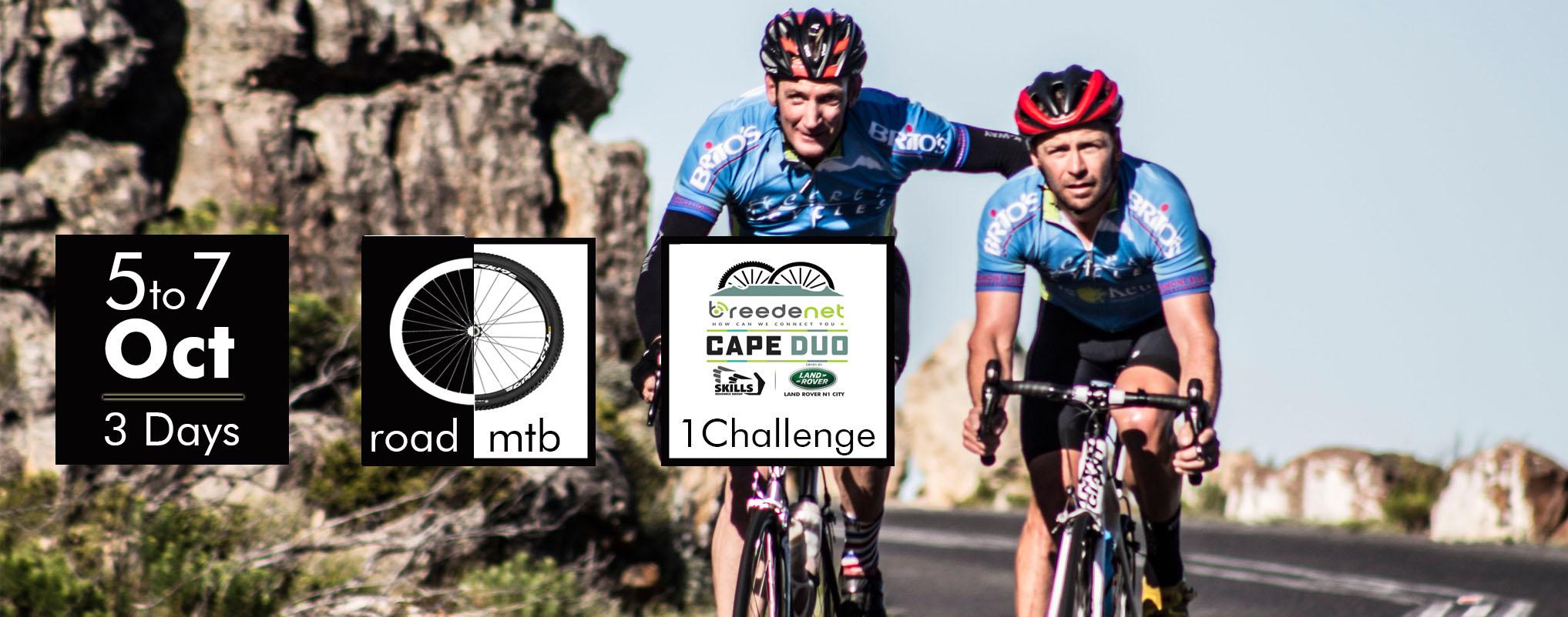 Enter Cape Duo 2018 as a Duo