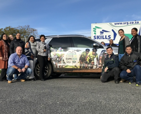 Skills Resource Group - proud sponsor of the 2018 Cape Duo